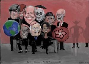 Americana Humor - Bush jokes, Funny Bush cartoons abound
