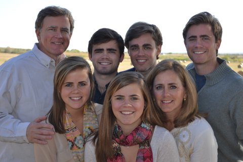 The Honorable Dan Branch of Texas &  His Family