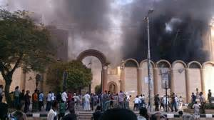 Egypt Churchers Burned2