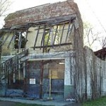 EmmettTill Remains of Bryant's Grocery and Meat Market as it appeared in 2009