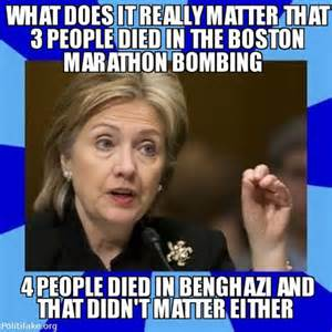 Hillary Clinton who was the Sec. of State on Sept 11, 2012 said that Benghazi didn't matter.  4 Americans were murdered including Ambassador Stevens. Now we find that 400 surface to air missles were stolen in the attack. Guess that doesn't matter either?