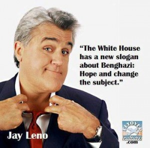 Hummm, come to think of it, NBC is firing Leno. Do you think it's because he's made fun of Obama? Or is he too big to fail?