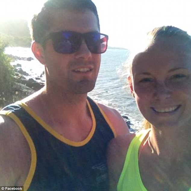Promising student - Lane was in the United States on a baseball scholarship and the pair had been dating since 2009