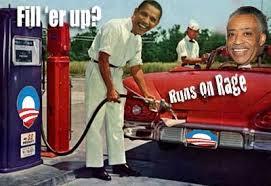 Runs on Rage - Obama  Sharpton