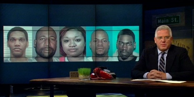 The Faces of Evil five attackers are Lemaricus Davidson, Letalvis Cobbins, George Thomas, Vanessa Coleman and Eric Boyd (TheBlaze TV)