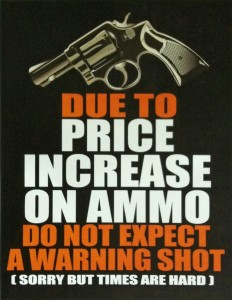 do not expect a warning shot