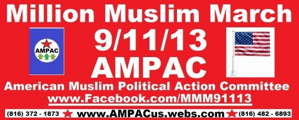 Million Muslim March Ad