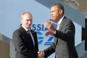 Putin and Obama G20 Summit, Sept 5,6 2013