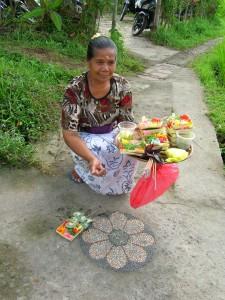 Offering in Bali  Photo by Debra Moffitt