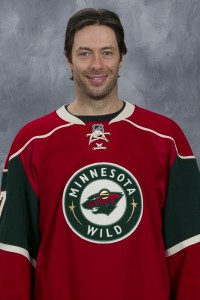 Matt Cullen, Minnesota Wild center (Photo by Andy King/NHLI via Getty Images)