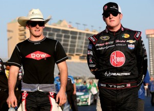 Austin Dillon (left) and his younger brother Ty (right). (Photo courtesy of nascarmedia.com)