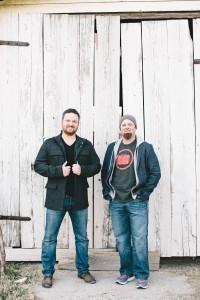 Shane Barnard (left) and Shane Everett (right).