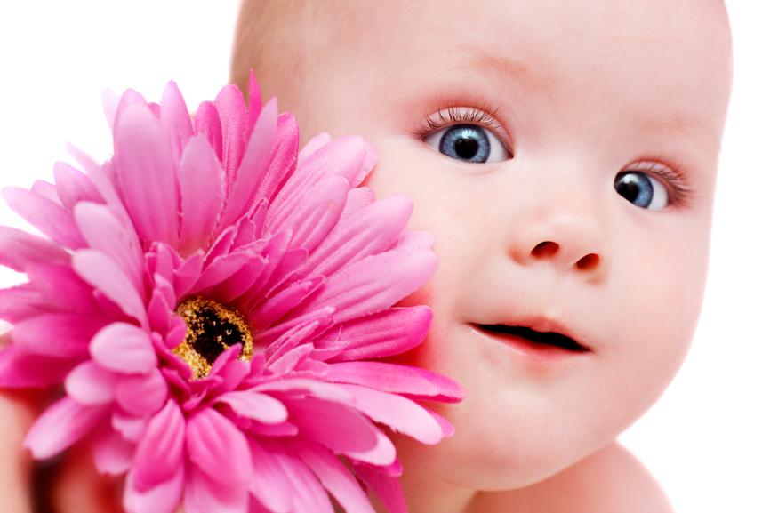 UNAS PALABRAS DE CONSUELO Y FORTALEZA Flower-baby