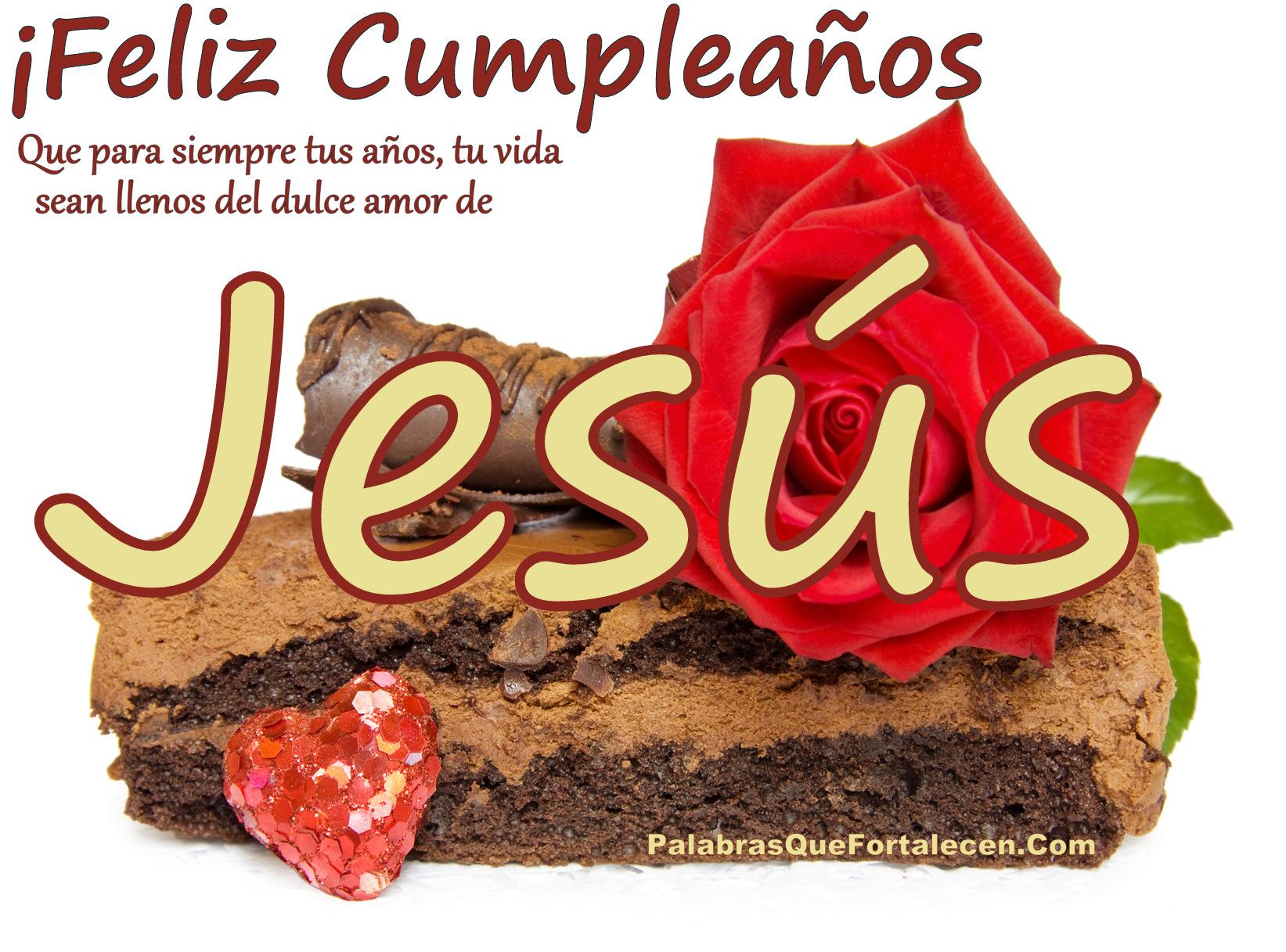 Cumpleaños en el dulce amor de Jesús - Palabras Que Fortalecen
