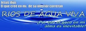 Rios de Agua Viva - portada nuevo perfil de facebook