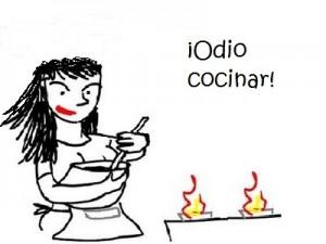 odio cocinar