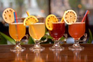 Four fruit punches