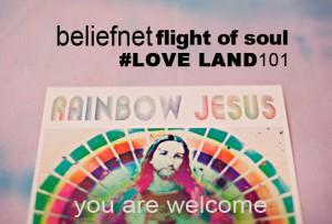 beliefnet flight of the soul melanie lutz #Next100 rainbow jesus