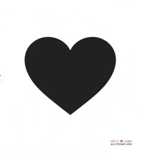 Black Heart Mels Love Land