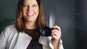 Melanie Lutz Camera Self Portrait CMDC