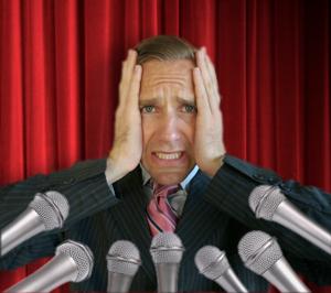 who else is afraid of public speaking