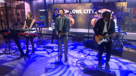 Owl City and Hanson perform on NBC's Today Show July 14, 2015. (NBC)
