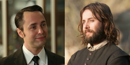 """Vincent Kartheiser in """"Mad Men"""" and in """"Saints and Strangers."""""""