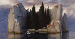 Sometimes, as Christians, are responses and reactions look too much like that of the world. The Isle of the Dead by Arnold Bocklin