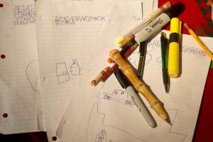 Pens and pencils by Steve Henderson Fine Art