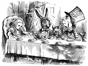 Alice in Wonderland illustration by John Tenniel