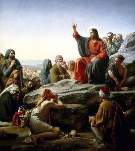 Jesus taught many things, and the best way to figure out what they are is to read His words for ourselves, as opposed to allowing others to interpret for us. Sermon on the Mount, by 19th century painter Carl Bloch.