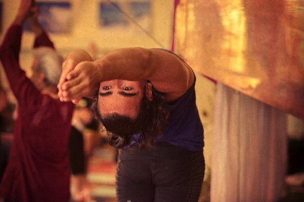 Dov Vargas and Sri Dhama Mittra at Wanderlust Festival via Flickr