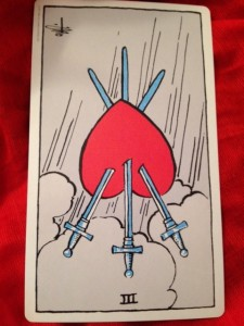 """three of swords"""