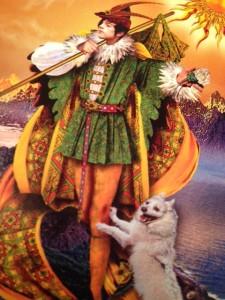 The Fool from The Tarot Illuminati