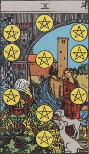 """10 of Pentacles"""