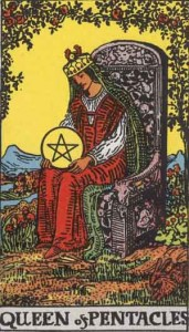 """queen of pentacles"""