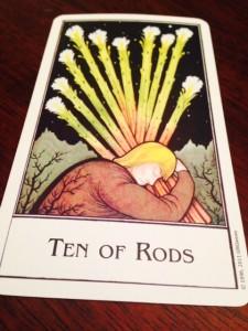 """""""ten of wands"""""""