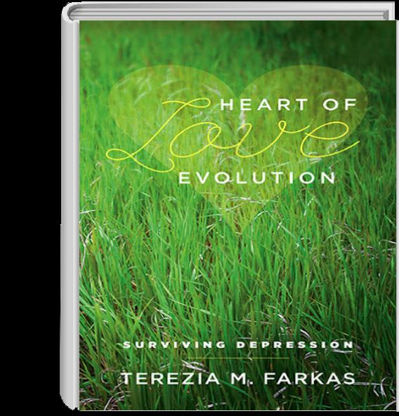 Heart of Love Evolution - Surviving Depression   Terezia Farkas   depression help