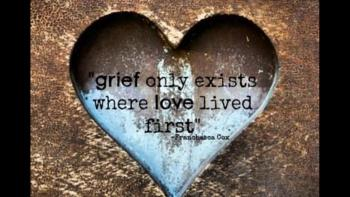 grief is all the love you have to give | Beliefnet | Terezia Farkas | depression help