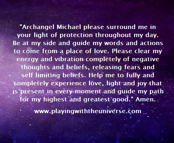Prayer of Protection with Archangel Michael - Angel Guidance