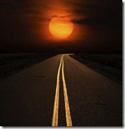 ROAD AND SUN