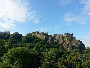 - Edinburgh castle