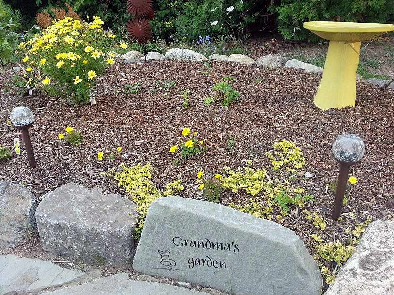 - grandma's garden