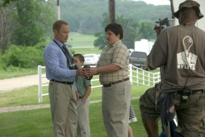 Production Photo - Marty and Young Brandon
