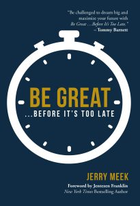 Be Great - Cover of Book