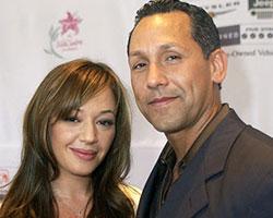 Leah Remini and Angelo Pagan