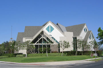 Sanctuary of Irvine Presbyterian Church