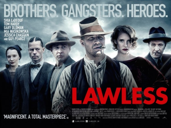 """""""Lawless"""" is another crime story about brothers, again very violent and, ..."""