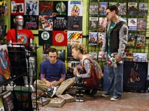 big bang theory comic book store