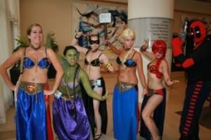harem superheroes
